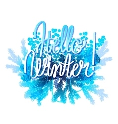 Winter frozen design vector