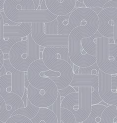 Round-lines-pattern-grey vector
