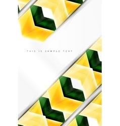 Glossy arrow wallpaper vector