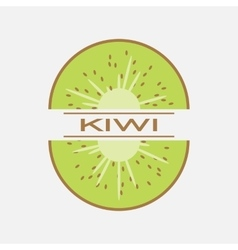 Kiwi icon vector