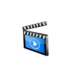 Media player icon vector