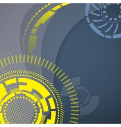 Abstract technology mechanical background vector
