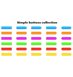 Simple buttons vector