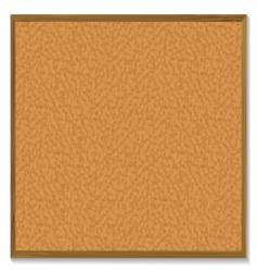 Pin board vector