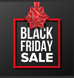 Black friday sale banner business vector