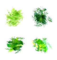 Abstract watercolor spots vector