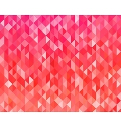 Abstract red color background vector image