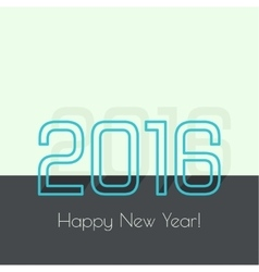 Creative happy new year vector