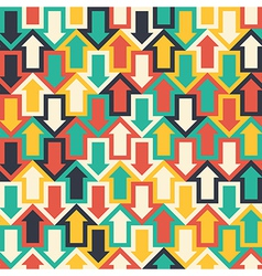 Seamless Pattern with Arrows vector image vector image