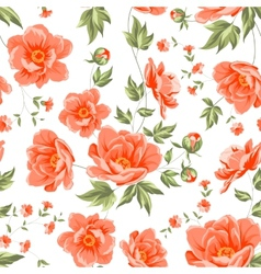 Design of vintage floral pattern vector