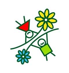 Childhood sign vector image