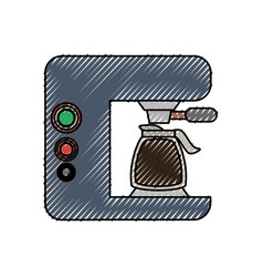 Coffe maker vector