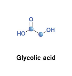 Glycolic alpha hydroxy acid vector