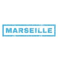 Marseille rubber stamp vector