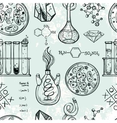 Science and education seamless pattern vector