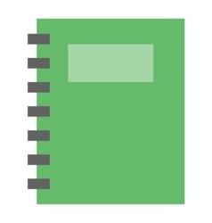 Planner notebook vector