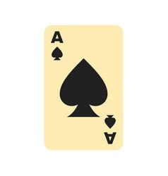 spades card vector image vector image