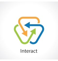 Interact vector