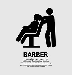 Barber sign graphic vector