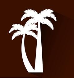 beach landscape vector image vector image