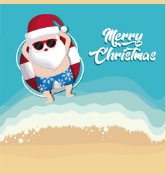Christmas vacations design vector