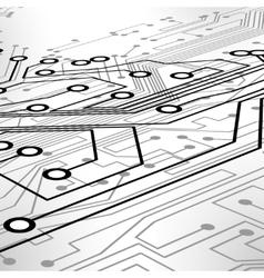 Circuit board vector