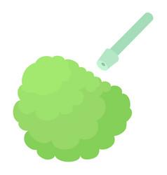 Disinfection icon cartoon style vector