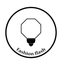 Icon of portable fashion flash vector