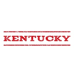 Kentucky watermark stamp vector