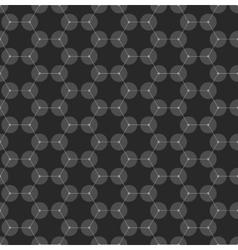 Chemistry seamless pattern hexagonal design vector