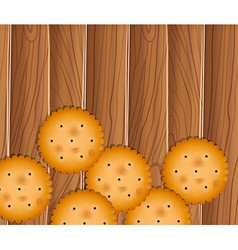 Delectable biscuits vector