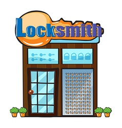 Locksmith vector image vector image