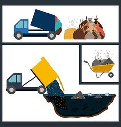 Pollution design vector