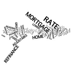 Great reasons to refinance text background word vector