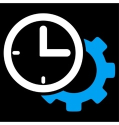 Time setup icon vector