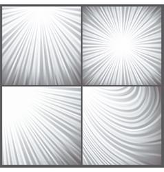 grey wave background vector image