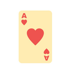 hearts card vector image vector image