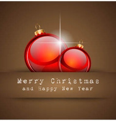Merry christmas elegant suggestive background vector