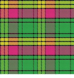 seamless pattern Scottish tartan vector image vector image