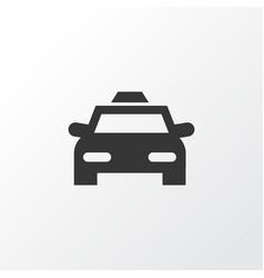 Taxi icon symbol premium quality isolated cab vector