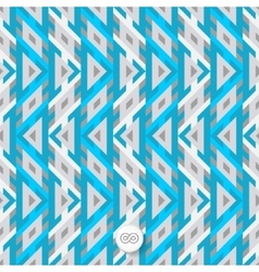 Mosaic seamless geometrical background vector