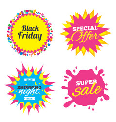 Black friday sale icon special offer symbol vector