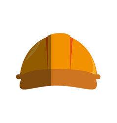 Helmet mechanic isolated icon vector