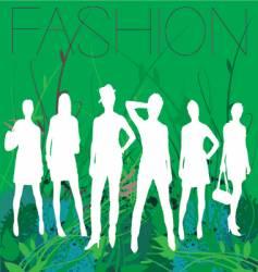spring fashion vector image vector image