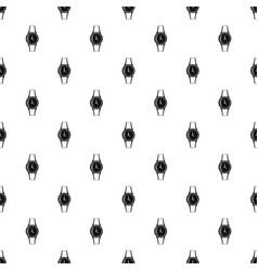wristwatch pattern vector image