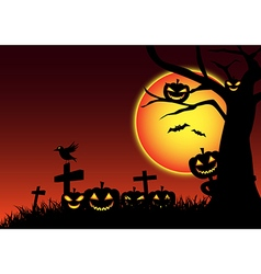 Halloween festive background vector