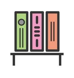 Bookstand vector