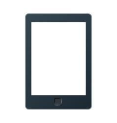 A portable modern tablet pc e-book vector