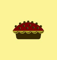 Delicious pie vector