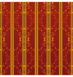 floral vintage wallpaper vector image vector image